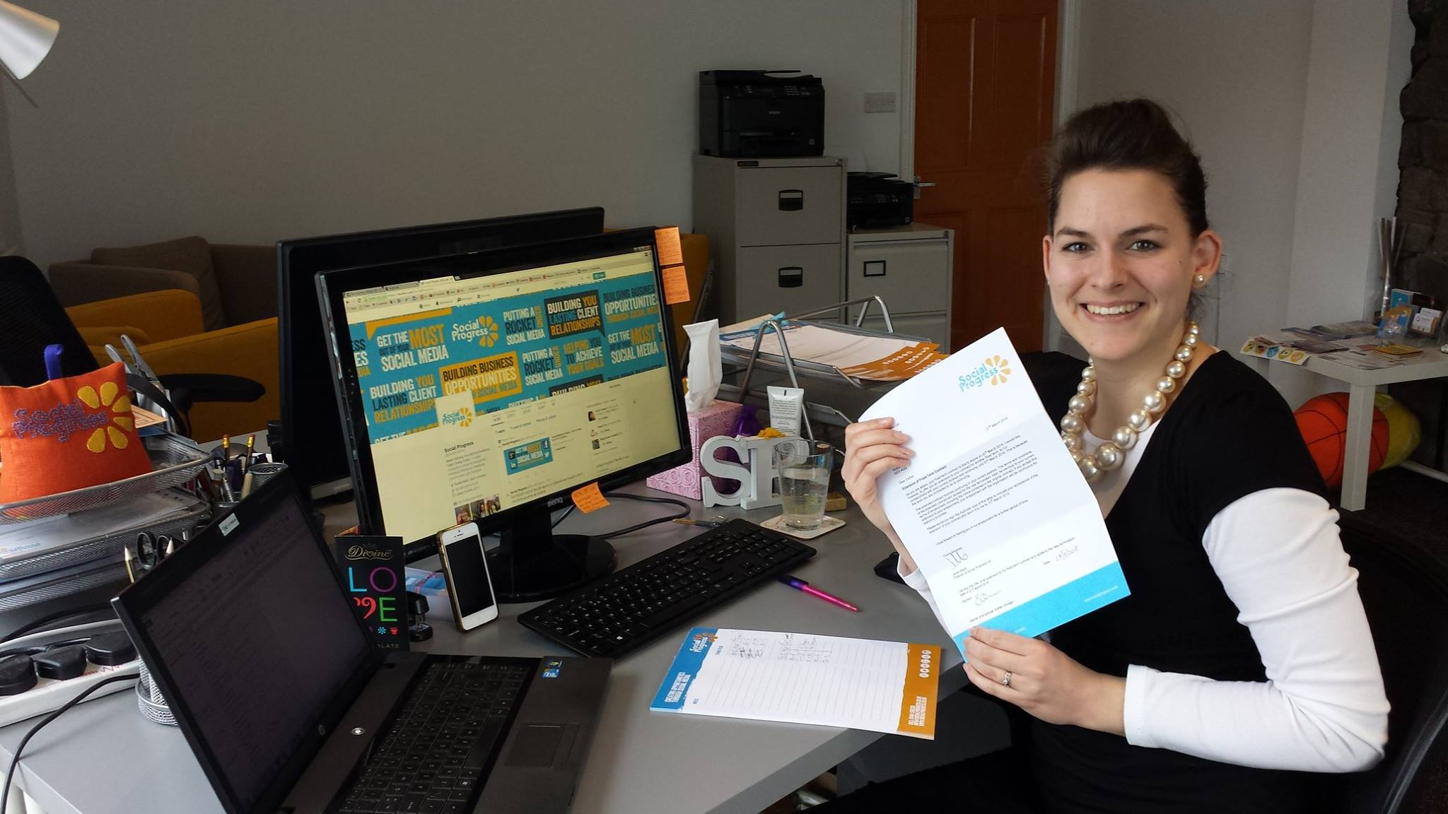Esther Orridge - Social Progress Ltd - Social Media Account Manager