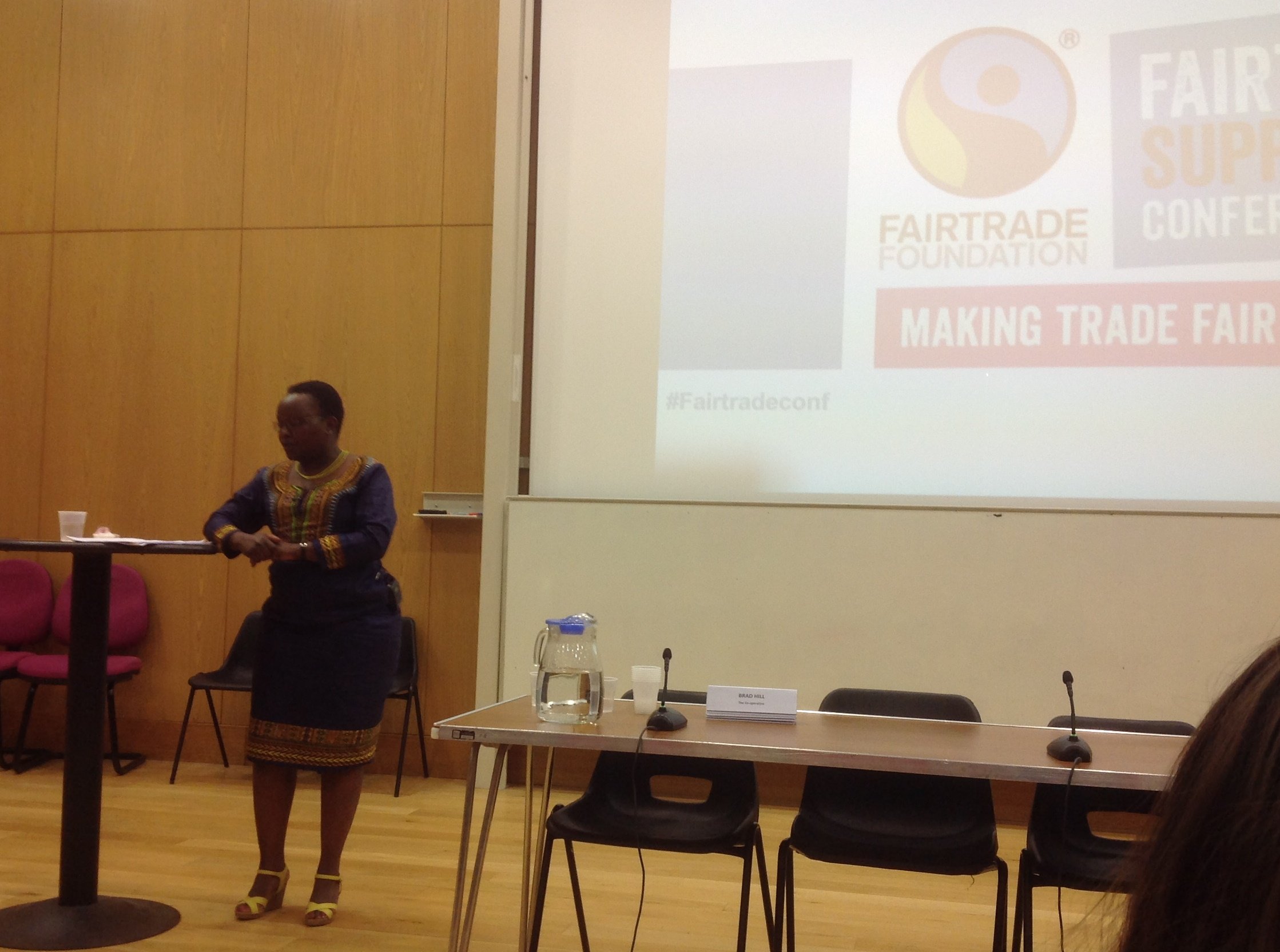 National Fairtrade Supporters Conference 2015 - Faith Muisyo