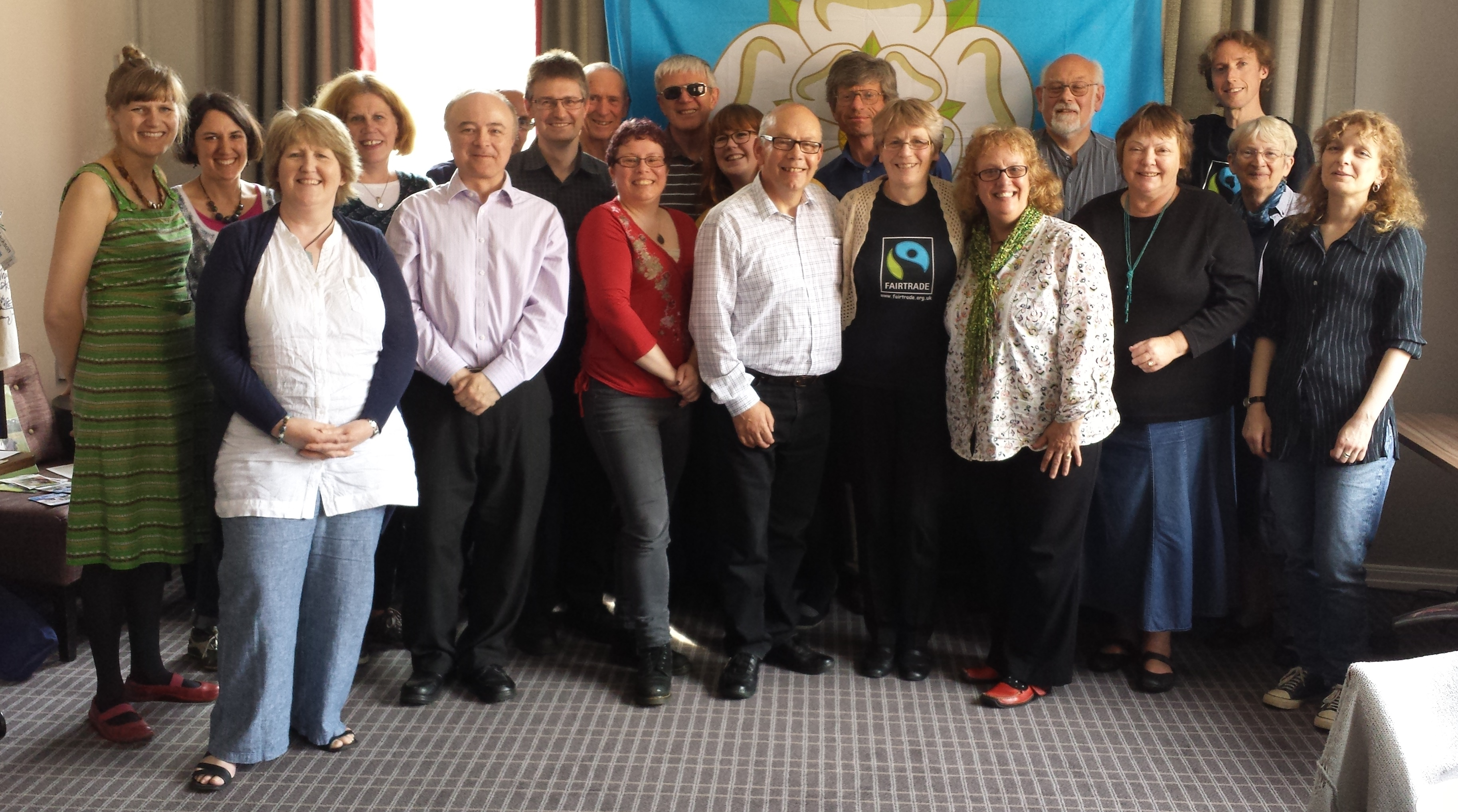 Fairtrade Yorkshire Meeting - June 2015 - Holme Valley Fairtrade - Social Progress - fairandfunky