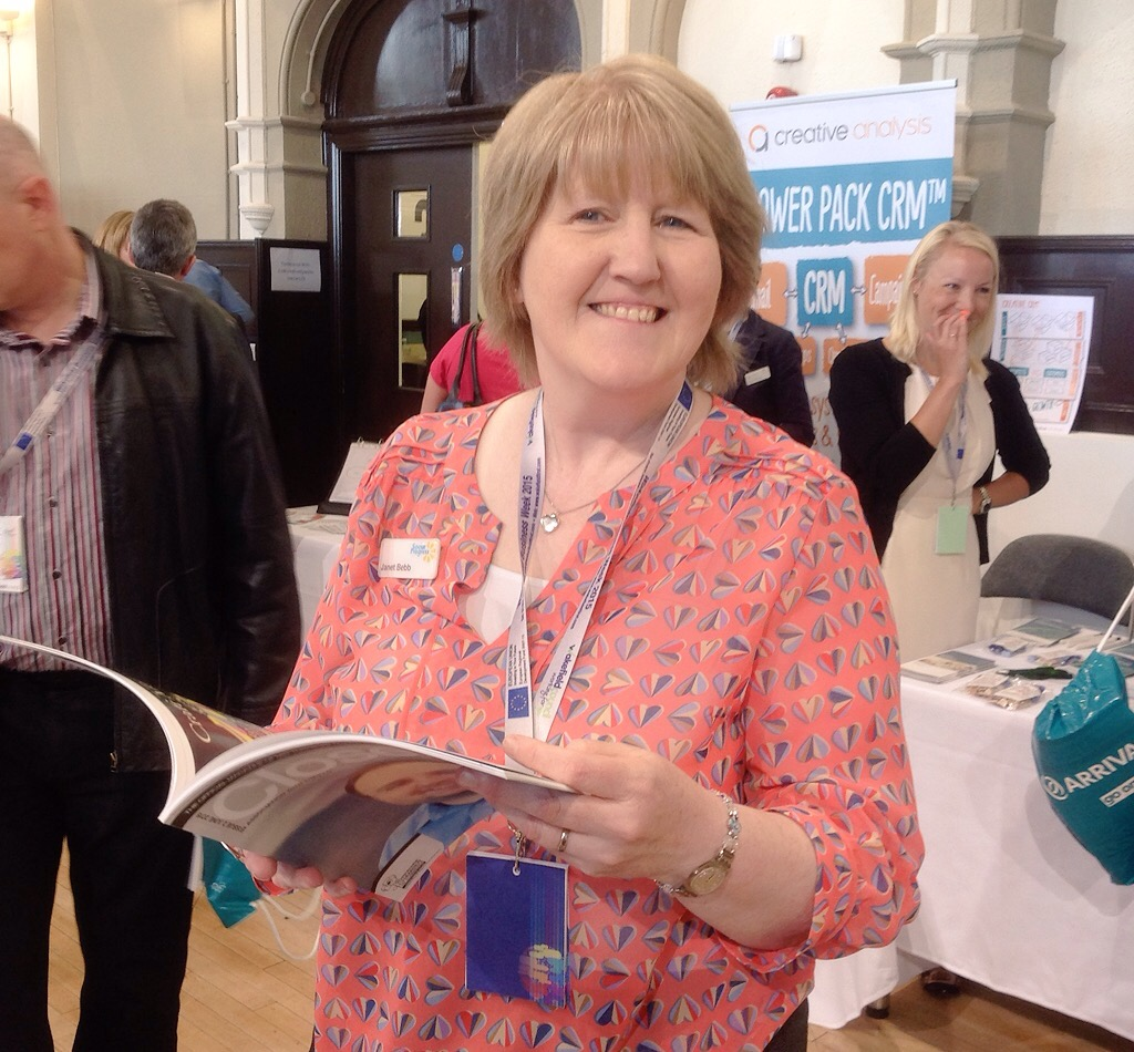 Social Progress - Janet Bebb - at Wakefield Business Conference 2015 at Unity Works