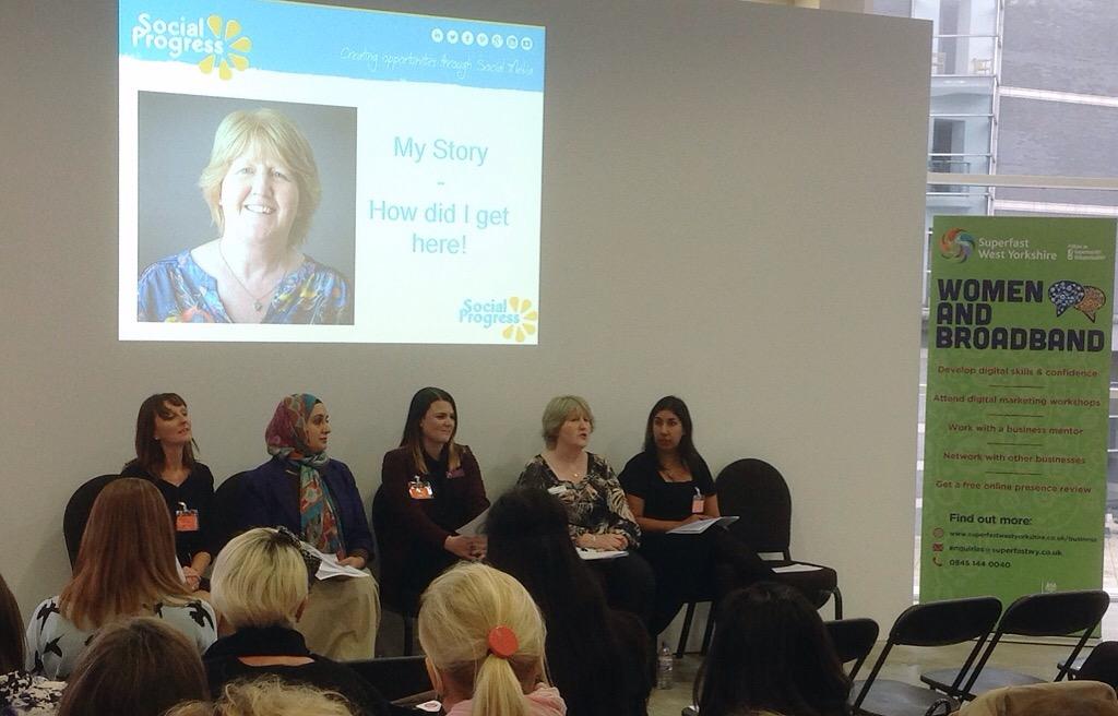 Ladies That Launch - Janet Bebb - Social Progress