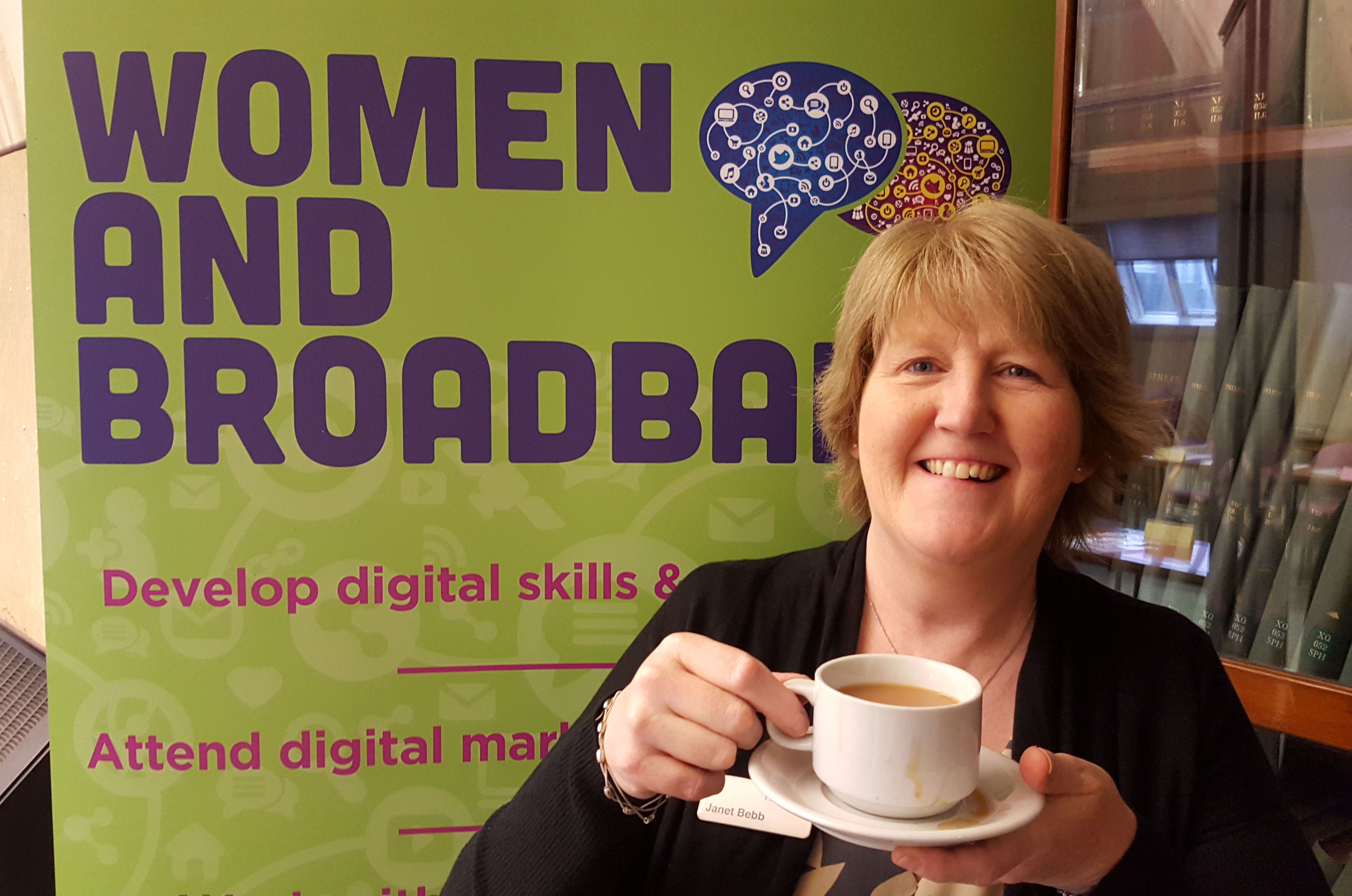 Superfast West Yorkshire Ladies That Launch - Blogging for Business Workshop by Janet Bebb, Social Progress Ltd