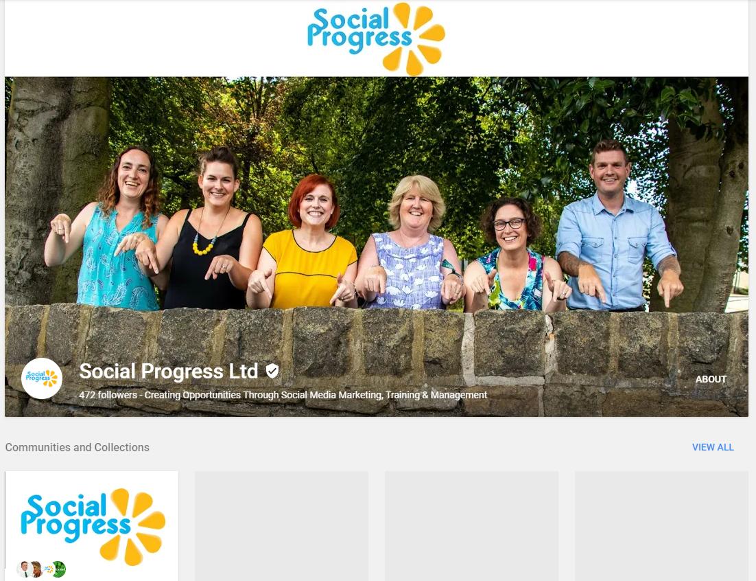 Social Progress Ltd - Google Plus Page 2019