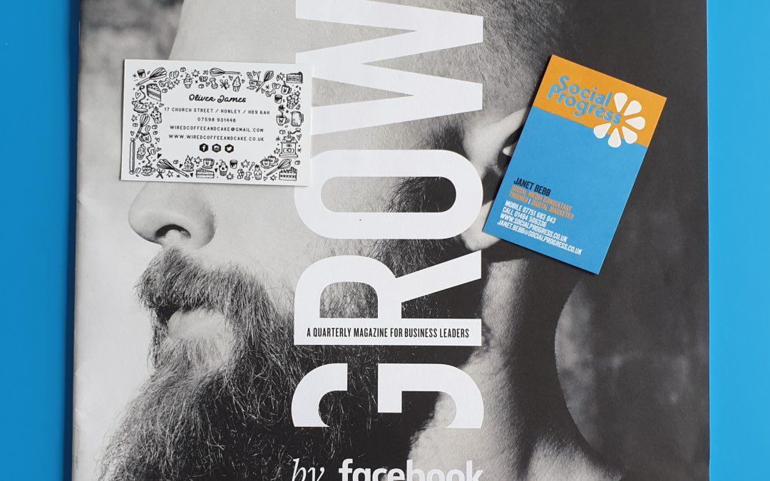 Facebook introduce 'GROW By Facebook' Print Magazine