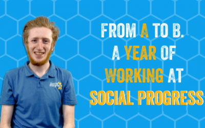 From A to B… A year of working at Social Progress!
