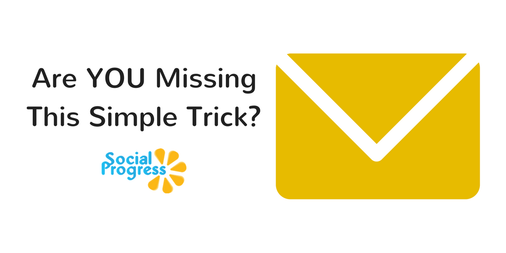 Are You Missing A Simple Marketing Trick?