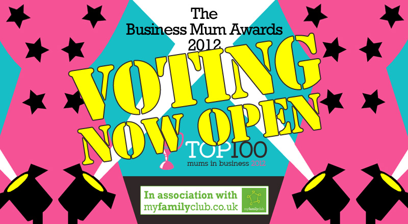 Here come the girls! Its National Business Mum Week & Janet's been nominated!