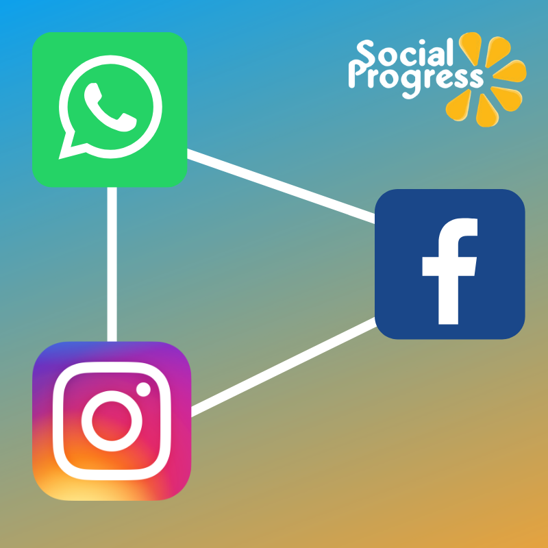 Facebook own both Instagram and WhatsApp, which are soon Social Media to be Connected
