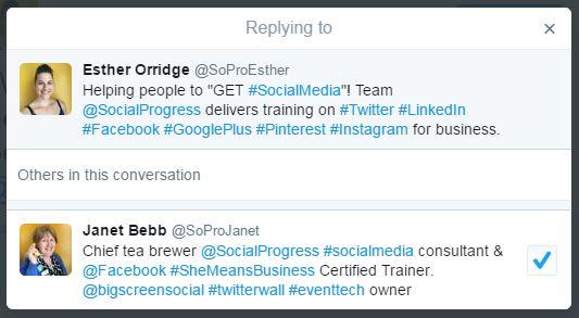 Social Progress Ltd - Twitter Update March 2016 - SoPro Blog