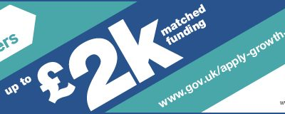 Would £2k of funding for strategic advice help your business grow?