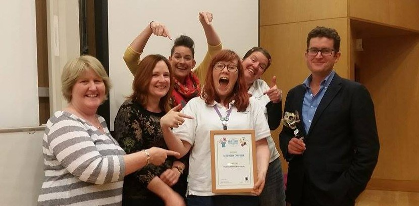 National Fairtrade Supporters Conference 2015 - Holme Valley Fairtrade - Runners Up for Best Media Campaign Award