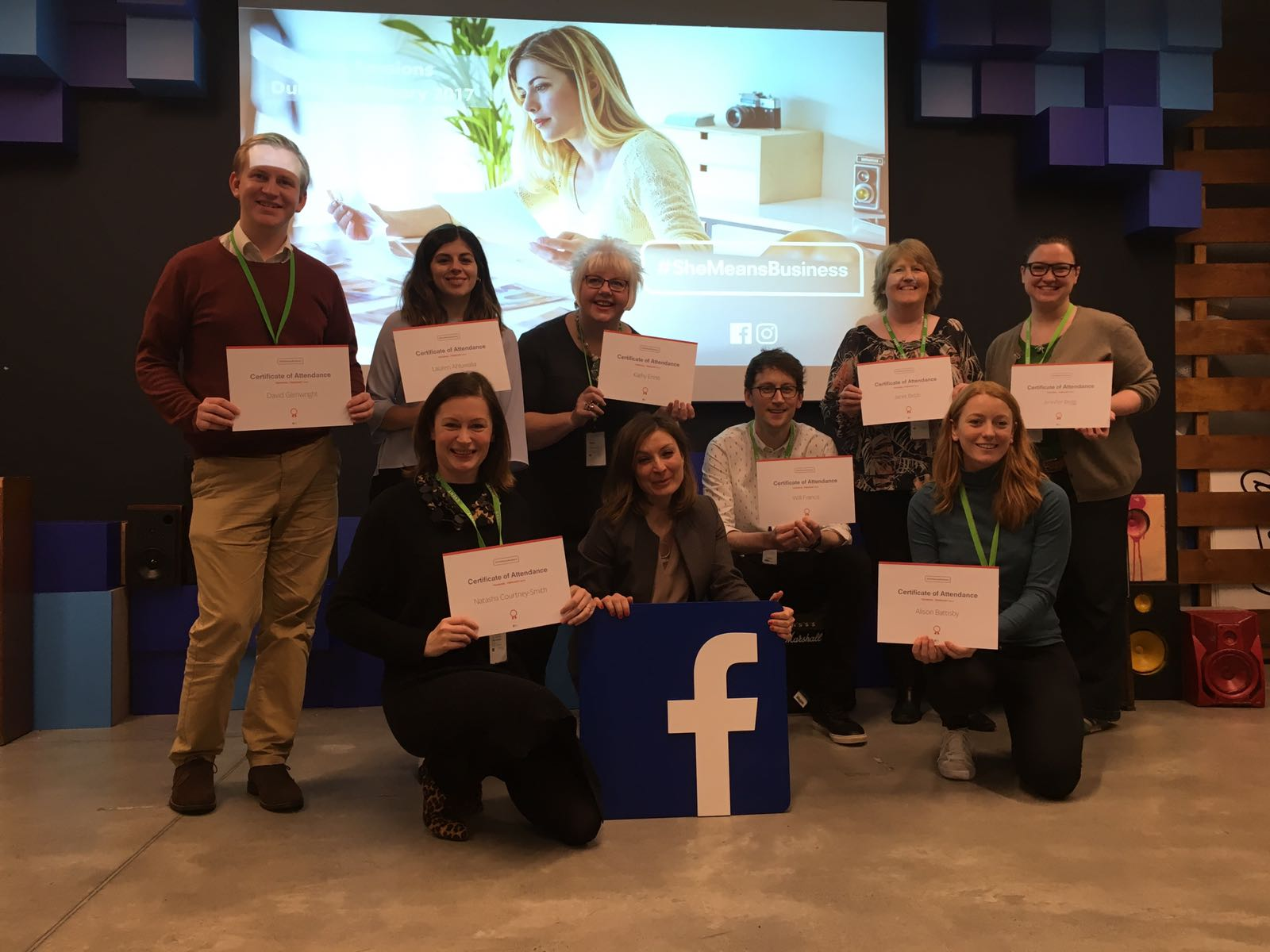 Facebook #SheMeansBusiness Certified Trainers