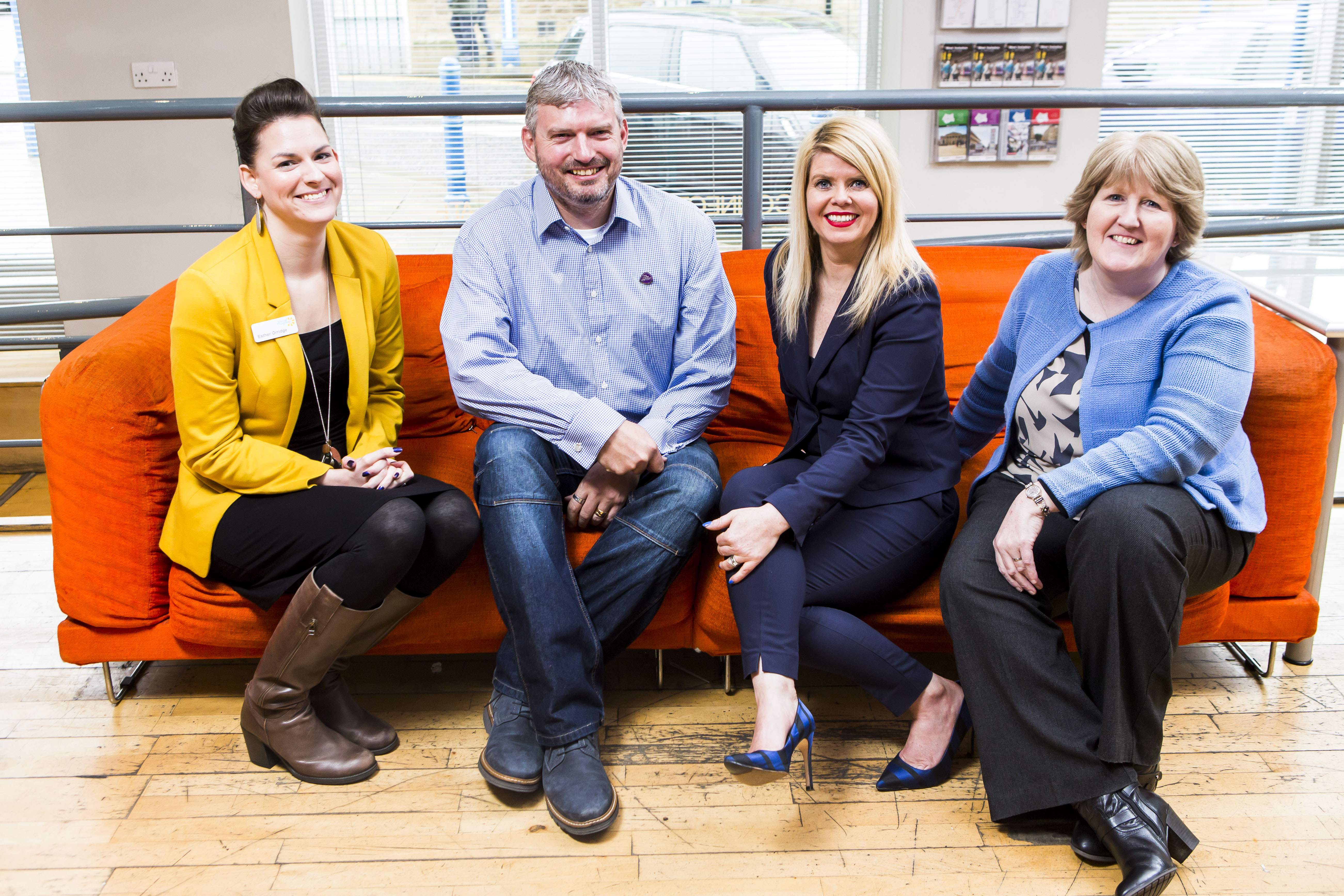 MYnetwork Partners - Photo by John Steel Photography - Social Progress Ltd, Ramsdens Solicitors and Better Telecomms - taken at Cafe Ollo, The Media Center