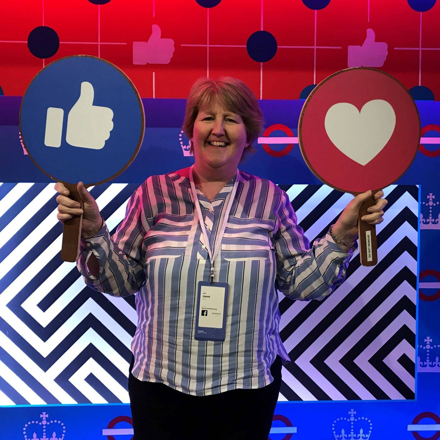 Janet Bebb - Social Progress Ltd - Facebook She Means Business Trainer 2019