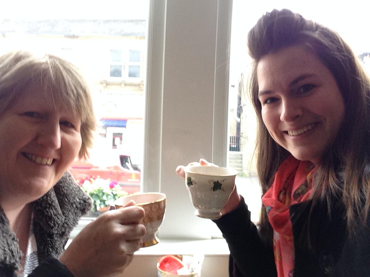 Janet Bebb and Esther Orridge - SOcial Progress Ltd - Social Media Training and Management