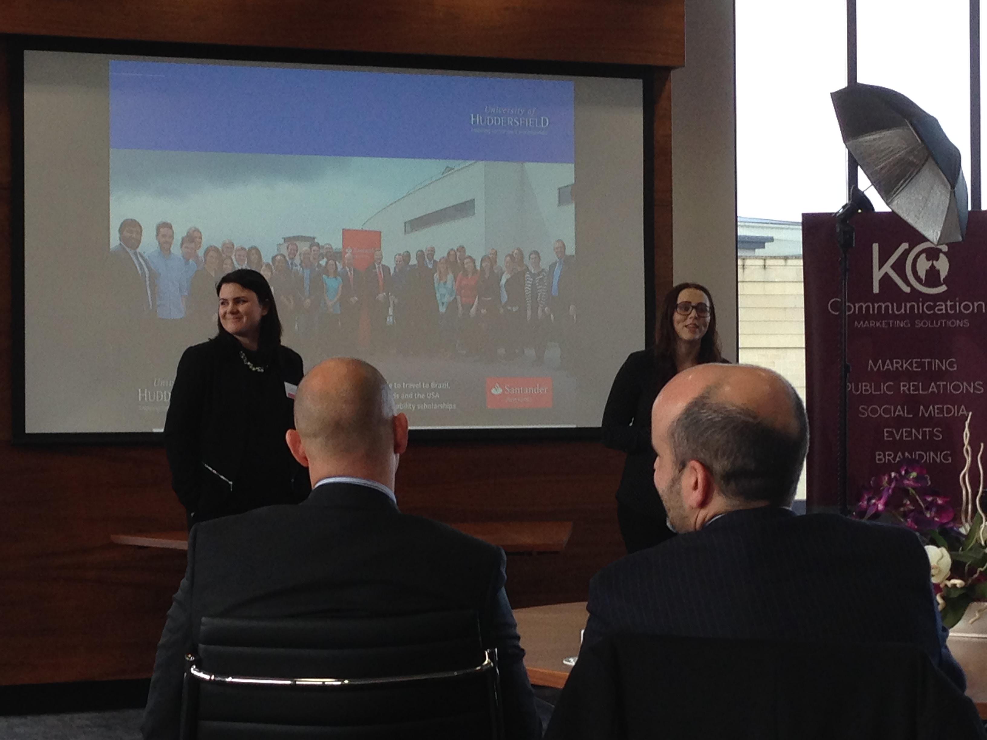 Santander Internship Programme - University of Huddersfield - Social Progress