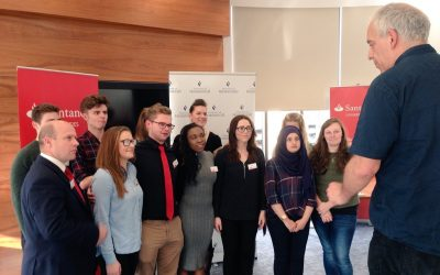 Santander Internship Celebration