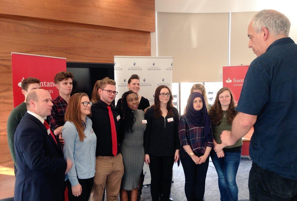Santander Internship Programme - University of Huddersfield - Social Progress - Interns