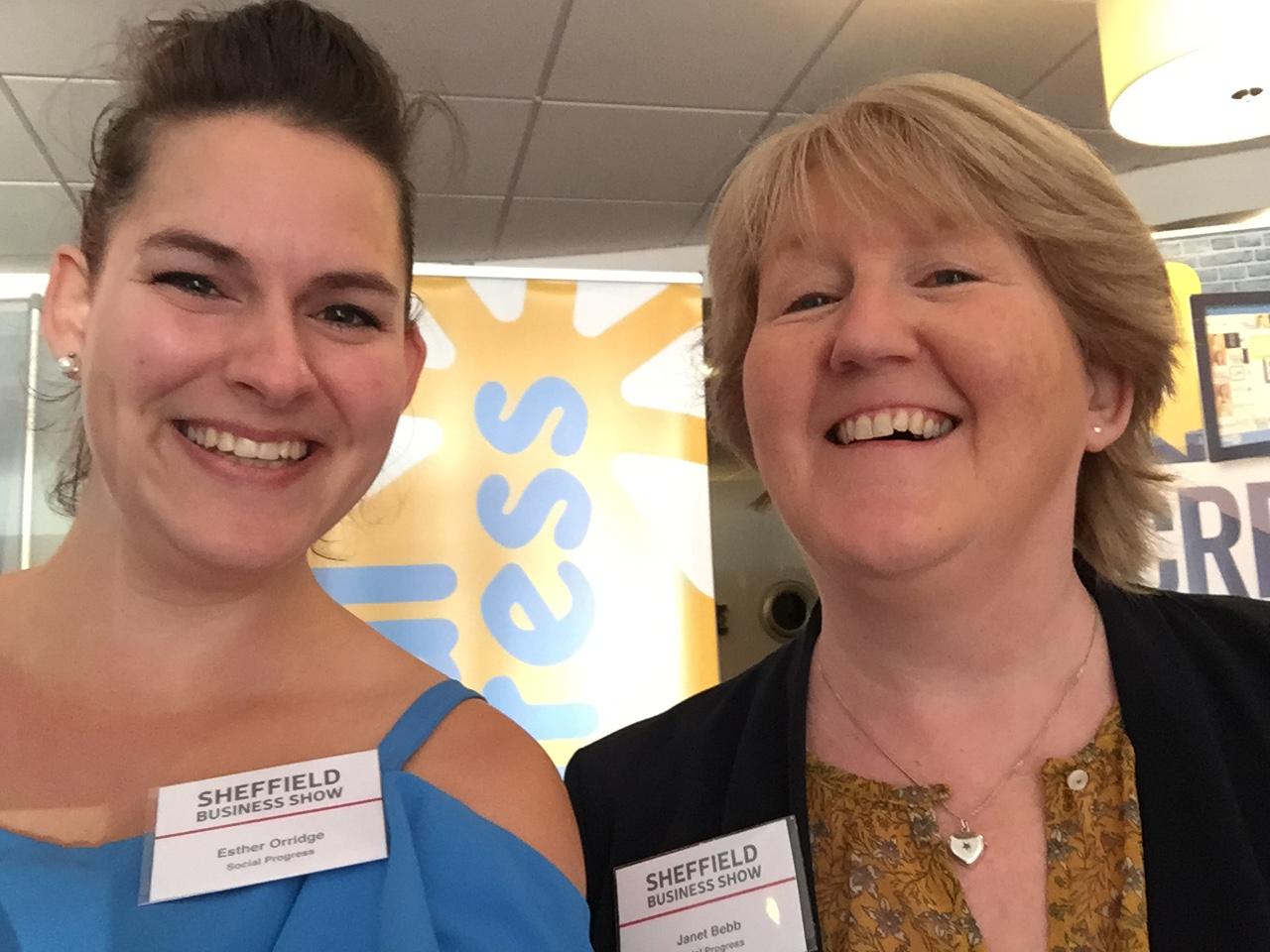 Social Progress at Sheffield Business Show