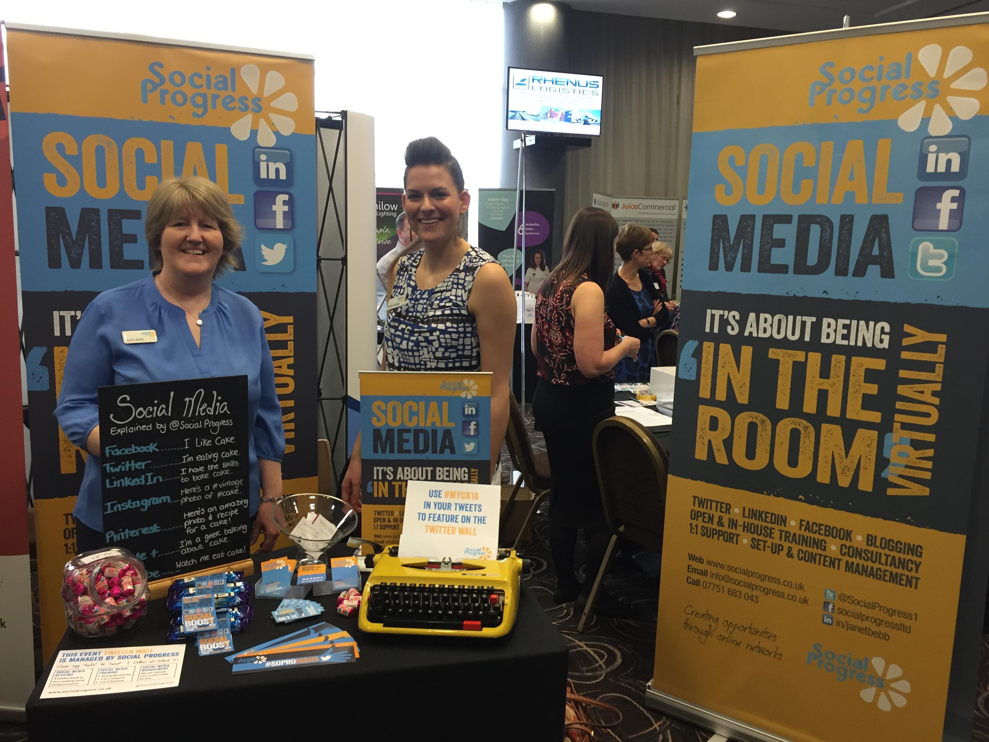 Social Progress Ltd - Kirklees Business Conference #MYCK16 - Mid Yorkshire Chamber of Commerce - Janet Bebb and Esther Orridge