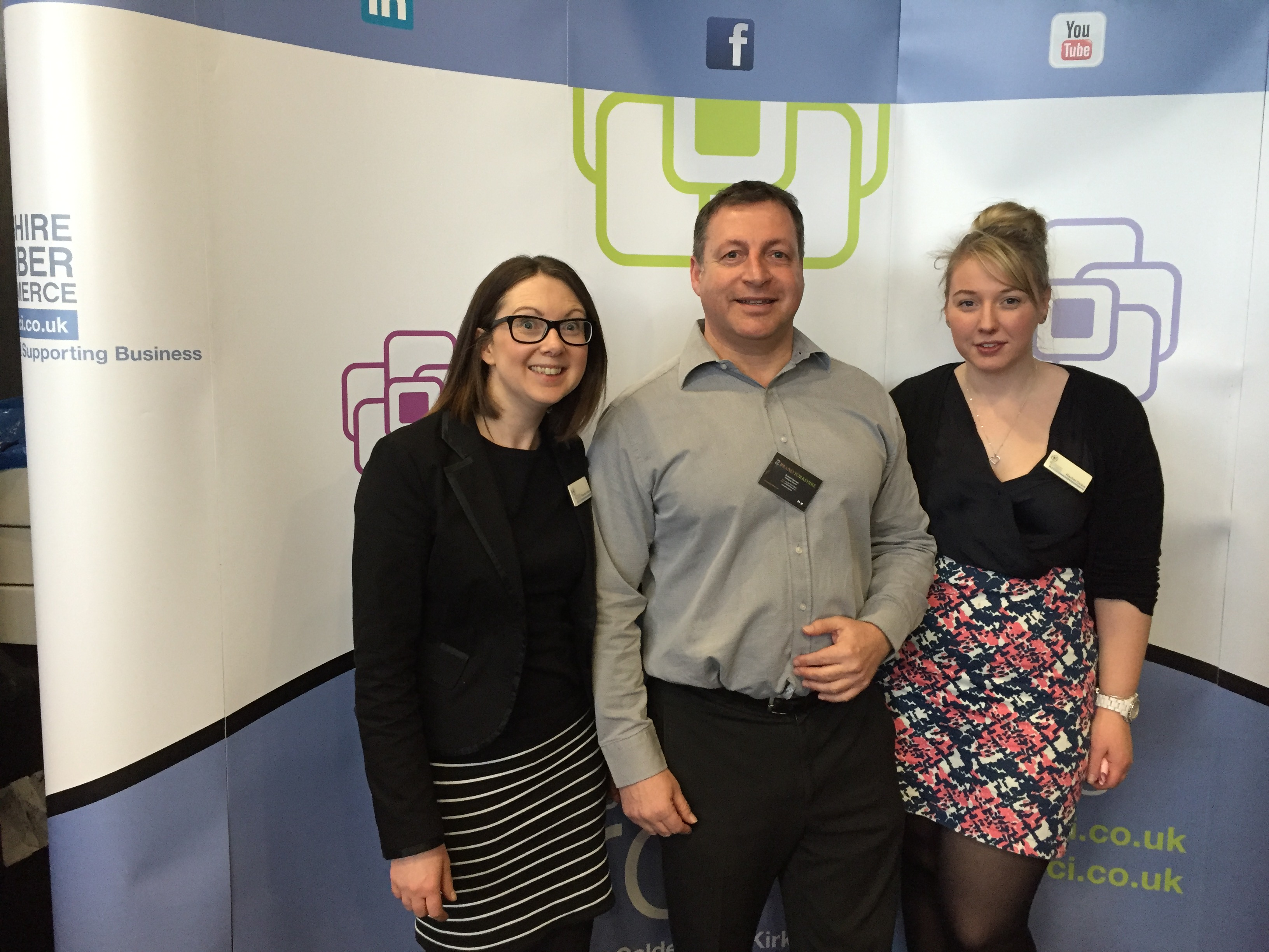 Social Progress Ltd - Kirklees Business Conference #MYCK16 - Mid Yorkshire Chamber of Commerce and Brand Yorkshire - Rachel Dickie, Rebecca Walker and Richard Norman
