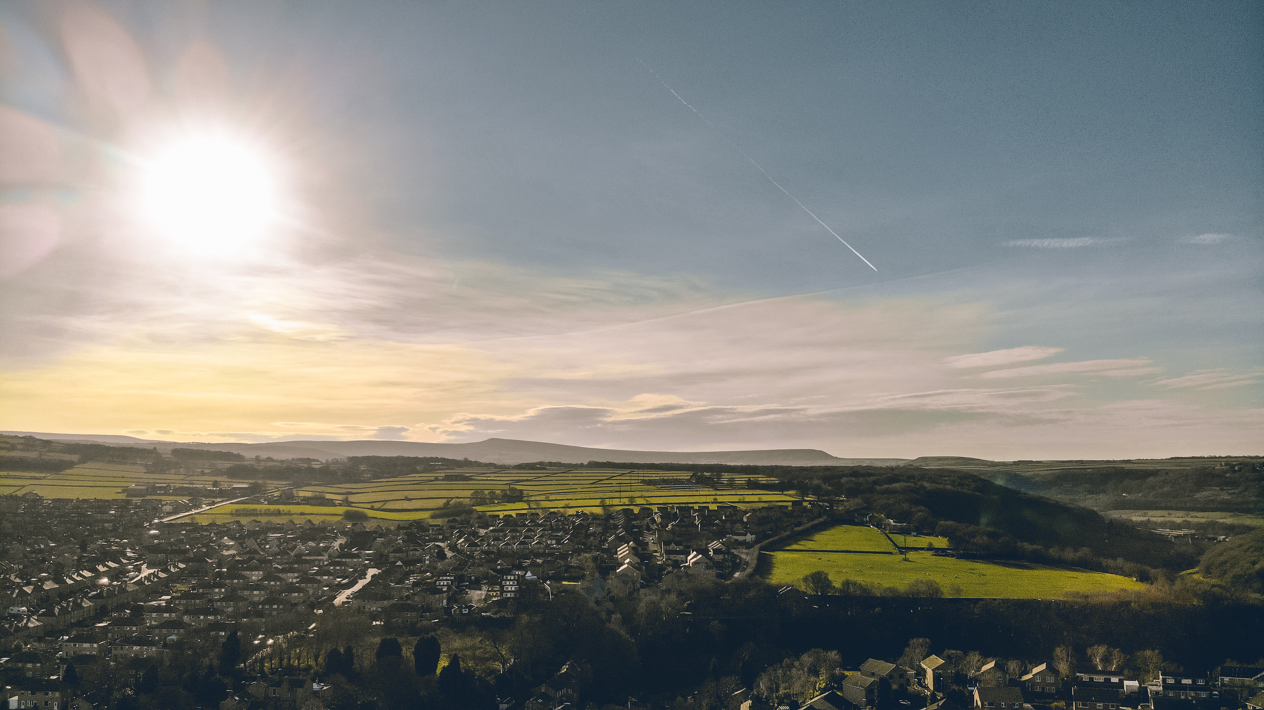 See Honley from a different angle