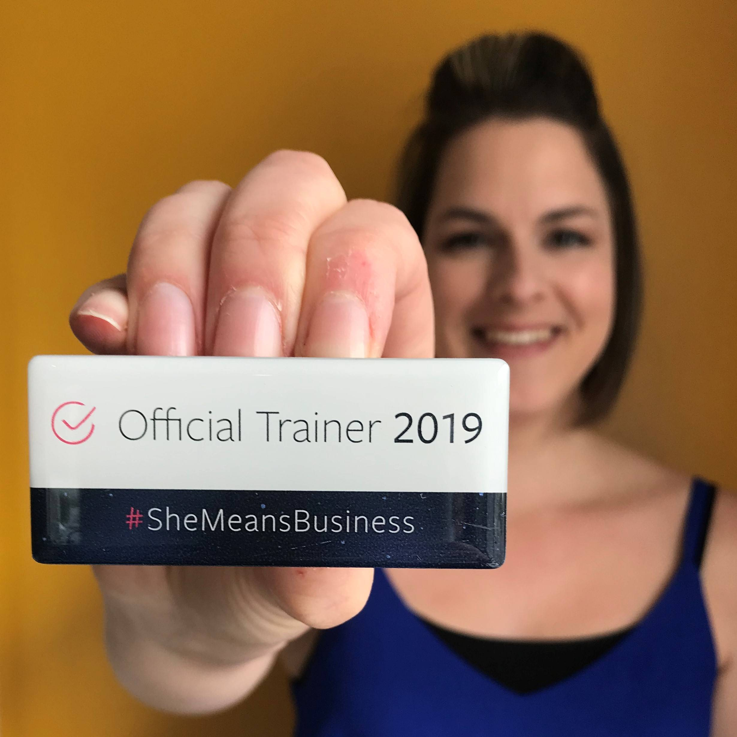 Esther Orridge - Social Progress Ltd - Facebook She Means Business Trainer 2019