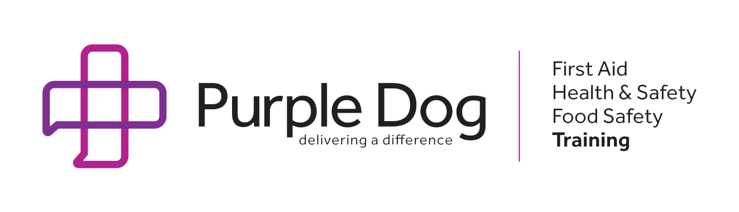 Purple Dog Training, Huddersfield. Health & Safety, First Aid Training - Logo