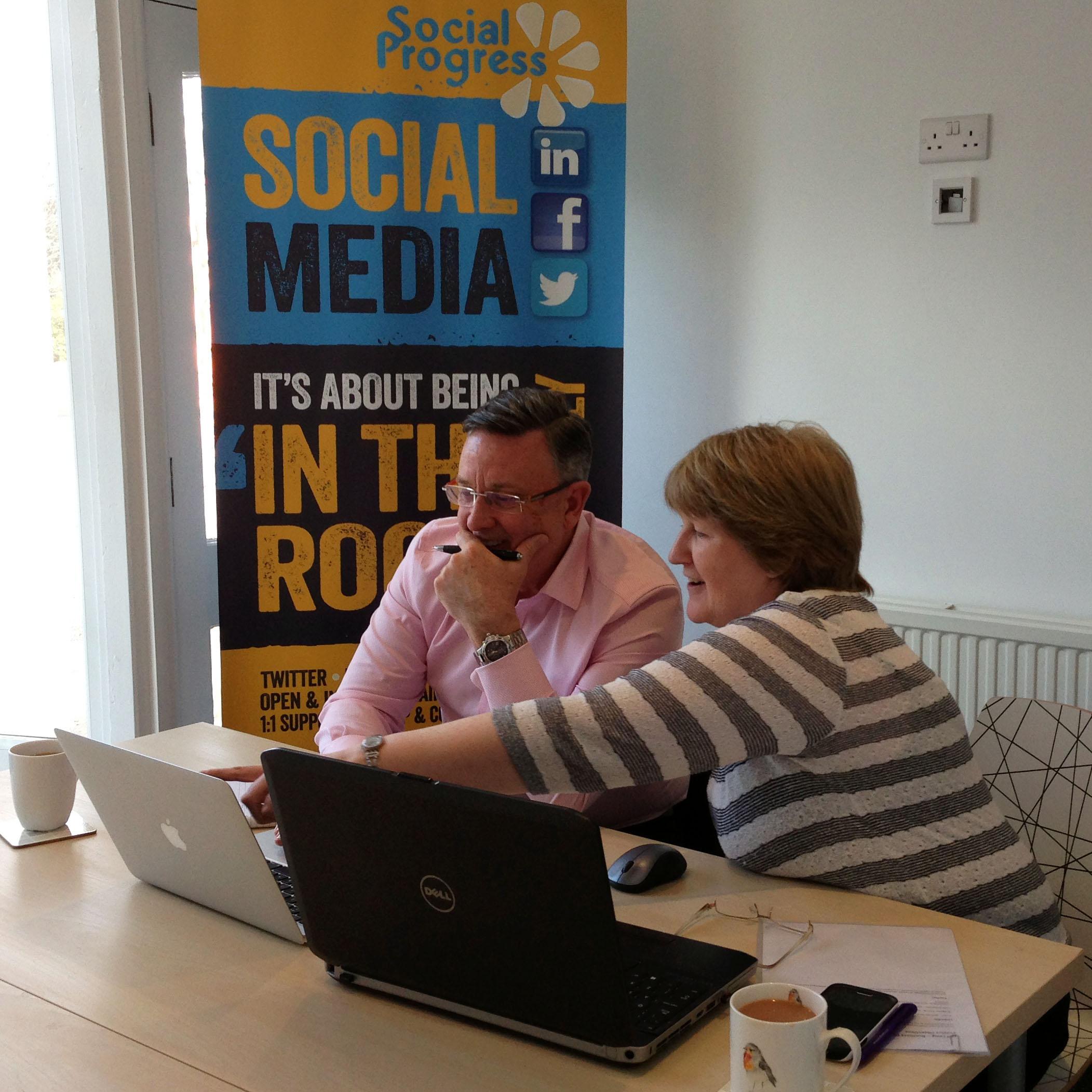 Social Progress - Social Media Training - Huddersfield