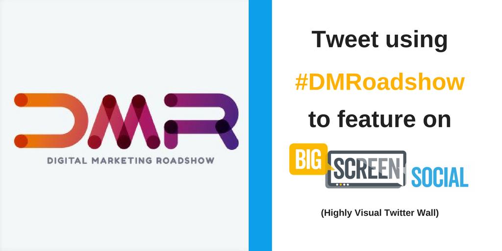#DMRoadshow - Big Screen Social