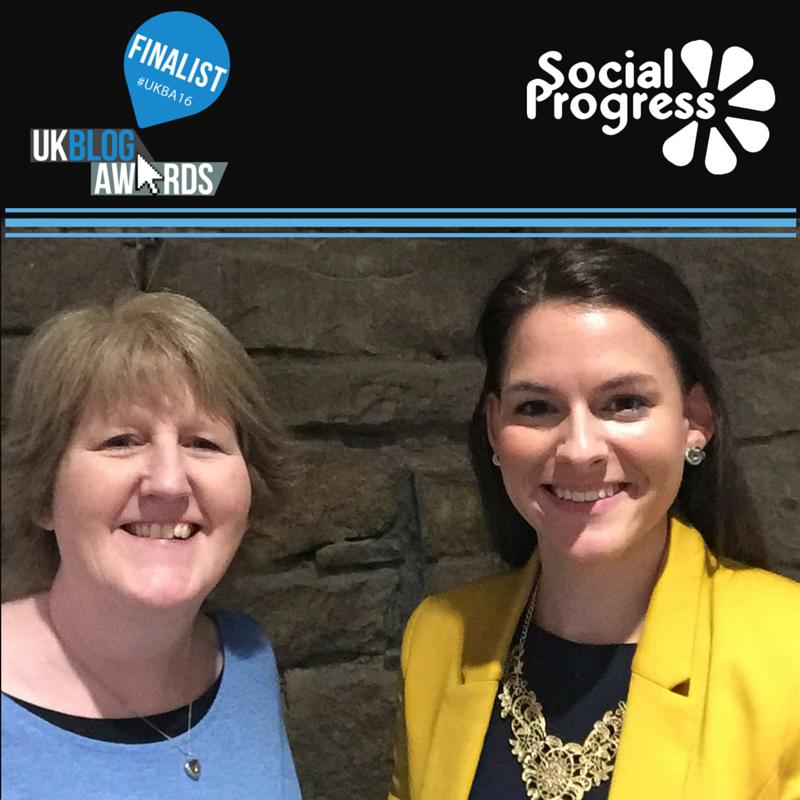 UK Blog Awards 2016 - Finalists - Social Progress Ltd