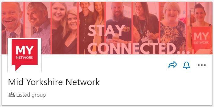 MY Network LinkedIn Group Header