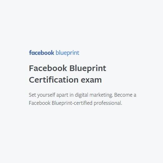 Facebook Blueprint - Screenshot