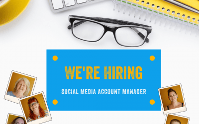 We're Hiring – Social Media Account Manager