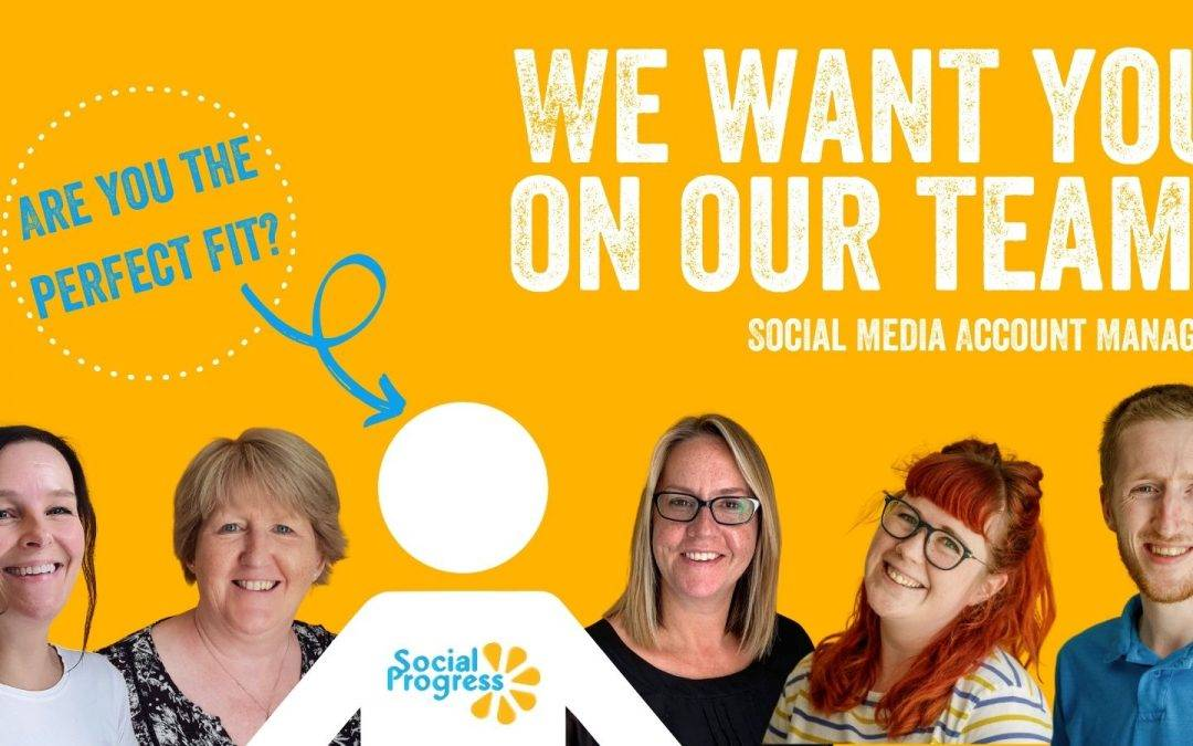 We're Hiring! Social Media Marketing Account Manager