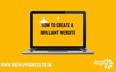 How do you create a brilliant website?