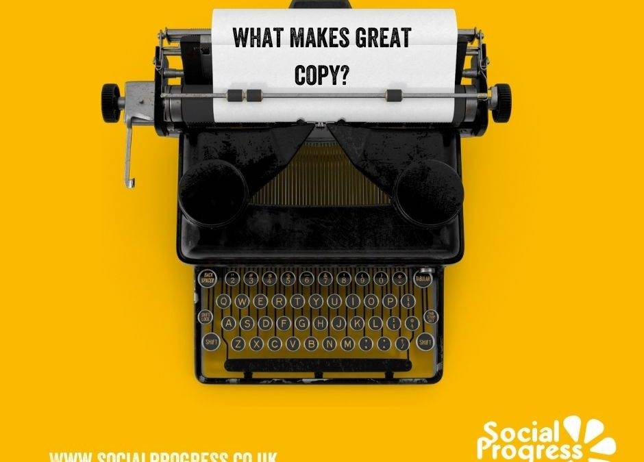 What makes great copy? Some quick tips from Claire at SoPro…
