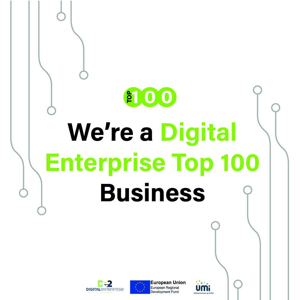 Copy of We_re a Digital Enterprise TOP 100 business