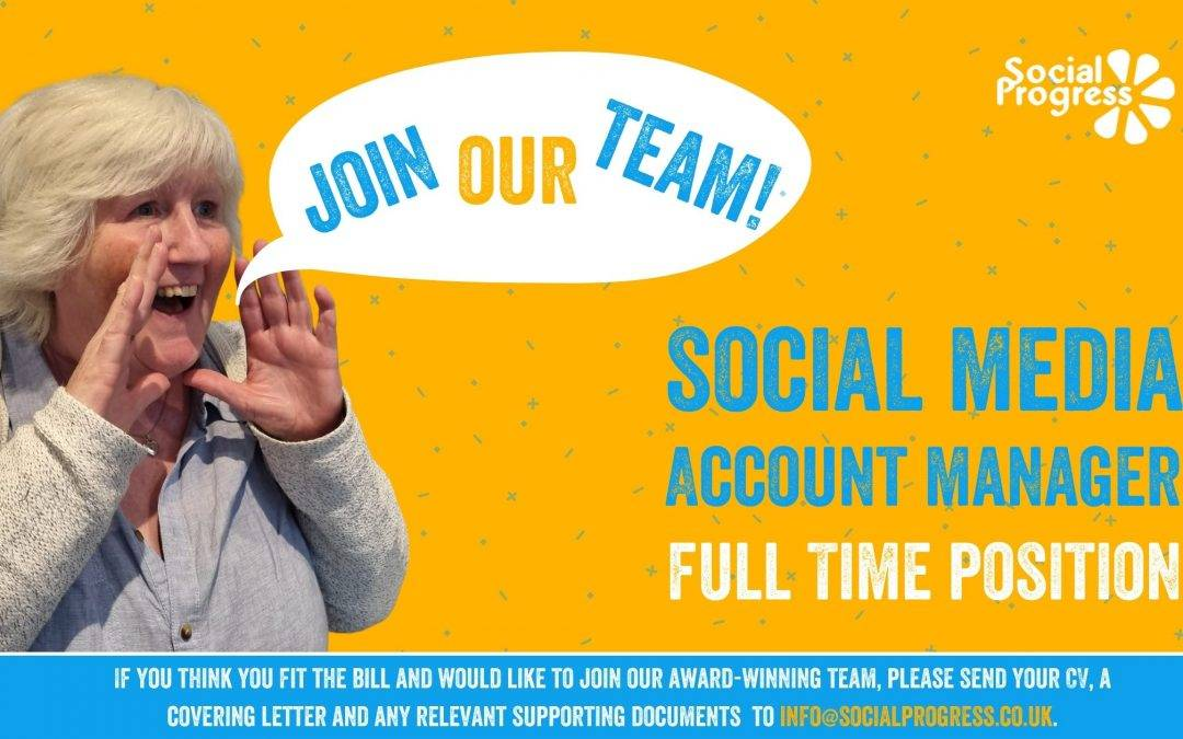 JOIN OUR TEAM! Social Media Account Manager – Full Time