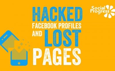Hacked Facebook Profiles and Lost Pages