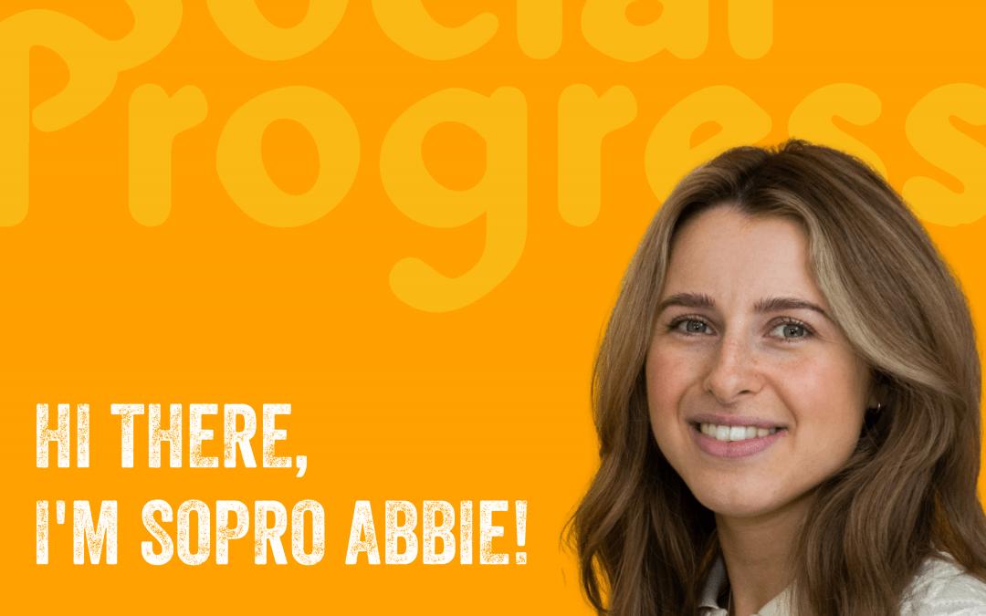Hello from SoPro Abbie!